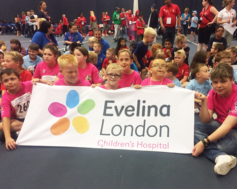 Evelina London at the Transplant Games