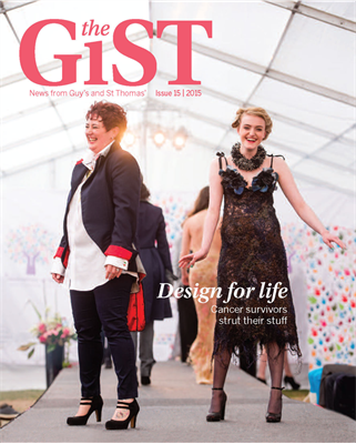 The GiST magazine front cover