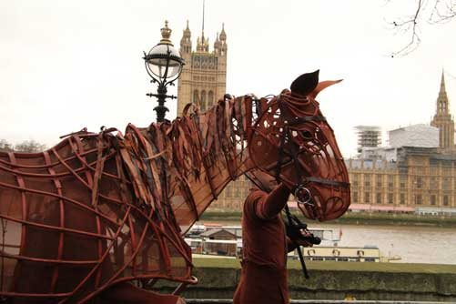 War Horse at Evelina London