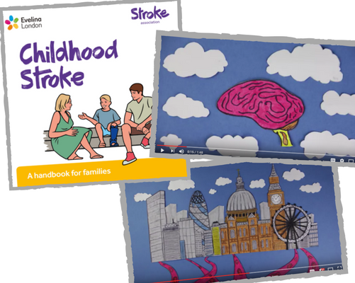 The Childhood Stoke Handbook and animations to support children who have experienced a stroke.