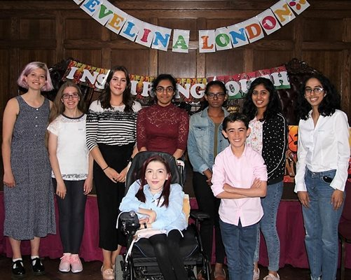 Young people attend the Evelina London Inspiring Youth Conference