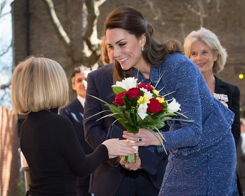 The Duchess of Cambridge meets Isabelle Randall