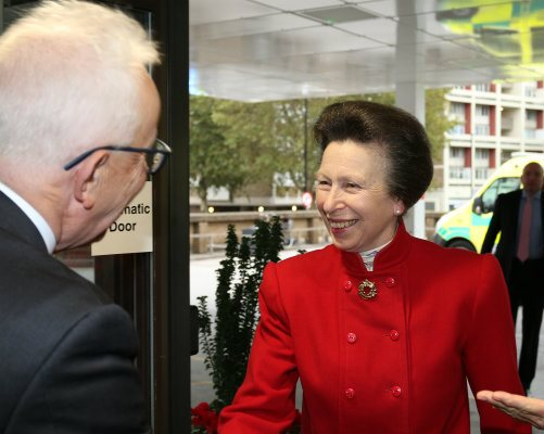 Princess Royal visits emergency department