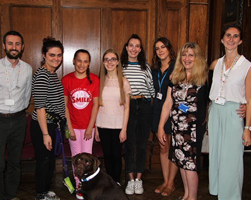 Inspirational patients attend Evelina London youth conference
