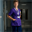 Matrons are senior staff who provide support and advice to a number of wards and departments. They wear purple uniforms.