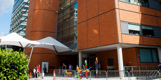 Evelina London Children's Hospital exterior