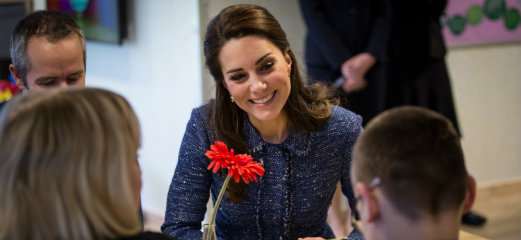 The Duchess of Cambridge visiting our patients