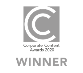 Corporate Content Awards 2020 silver winner