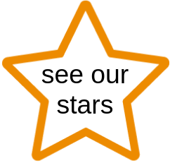 See our stars.