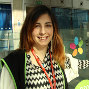Catarina, volunteer at Evelina London