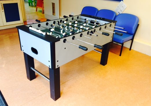 Mary Sheridan table football
