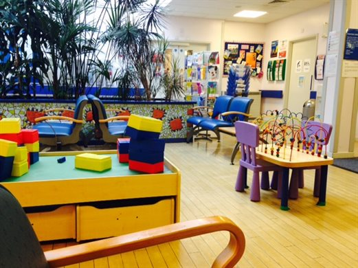 Mary Sheridan Centre waiting room