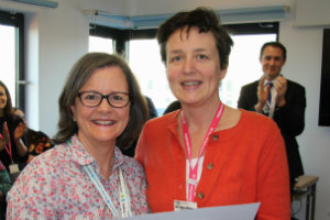 Dr Anne Wright and Dr Sara Hanna at Sunshine House