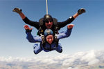 Fundraising skydive