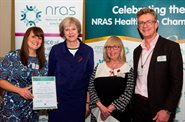 Prime Minister presents award to rheumatology team