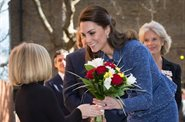 Duchess of Cambridge meets Evelina London families at new Ronald McDonald House