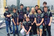 Amazing Evelina London heart patients climb The O2