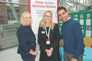Dr Ranj drops in to launch new fundraising children's book