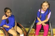 Community sports camp inspires girl to join wheelchair basketball team