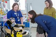 The Duchess of Cambridge visits Evelina London to launch global nursing campaign