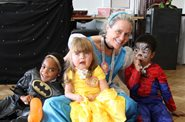 Tracheostomy patients party like princesses and superheroes