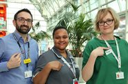 NHS rainbow badges promote inclusion
