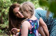 Our Patron, The Duchess of Cambridge, joins patients in her garden