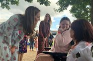 Families enjoy getting back to nature with The Duchess of Cambridge