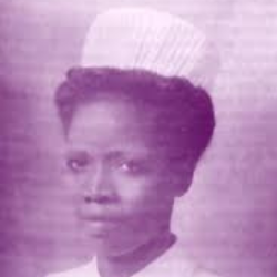 Kofoworola Abeni Pratt in her nursing uniform.