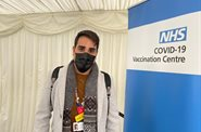 Dr Ranj has received his first COVID-19 vaccine