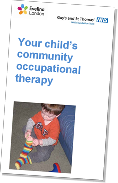 Your child's community occupational therapy leaflet