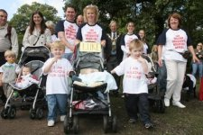 The Elborn family raise money for Evelina London