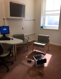 Complex neurodevelopmental service clinic room