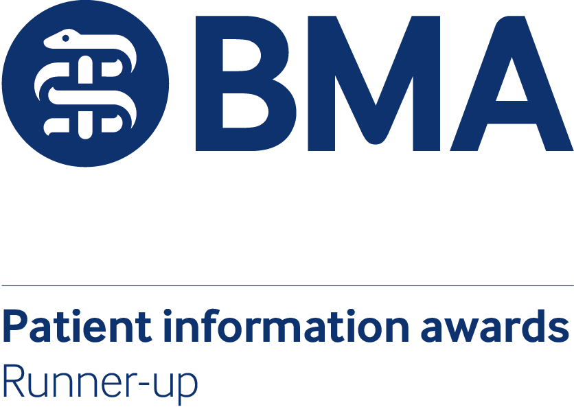 BMA Patient information awards runner up
