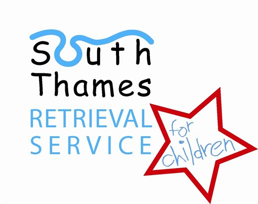 The logo for the South Thames Retrieval Service (STRS).
