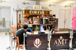 Evelina London AMT coffee bar
