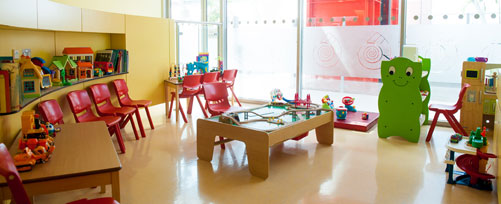 Beach ward play area