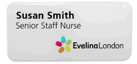 Evelina London staff badge